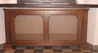 Декоративные экраны для радиаторов отопления «Квартек» серии «Элегант» - изящная простота форм