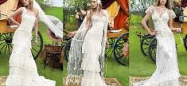 Как выбрать винтажное свадебное платье