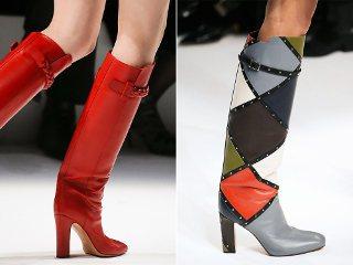 Сапоги сезона осень-зима 2014-2015: последние модные тенденции