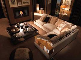 Ещё одна гостиная обставленная Итальянской мебелью