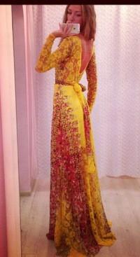Платье студии золотой песок