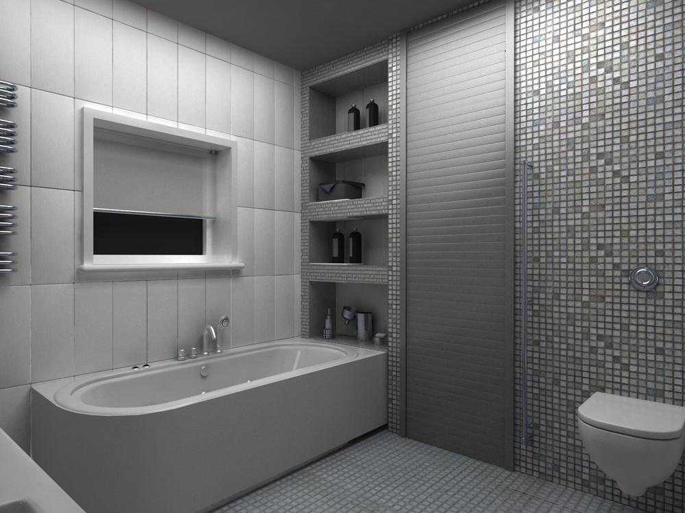 Декорирование туалет рольставнями