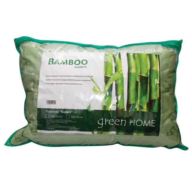 Бамбуковые подушки и с чем их едят