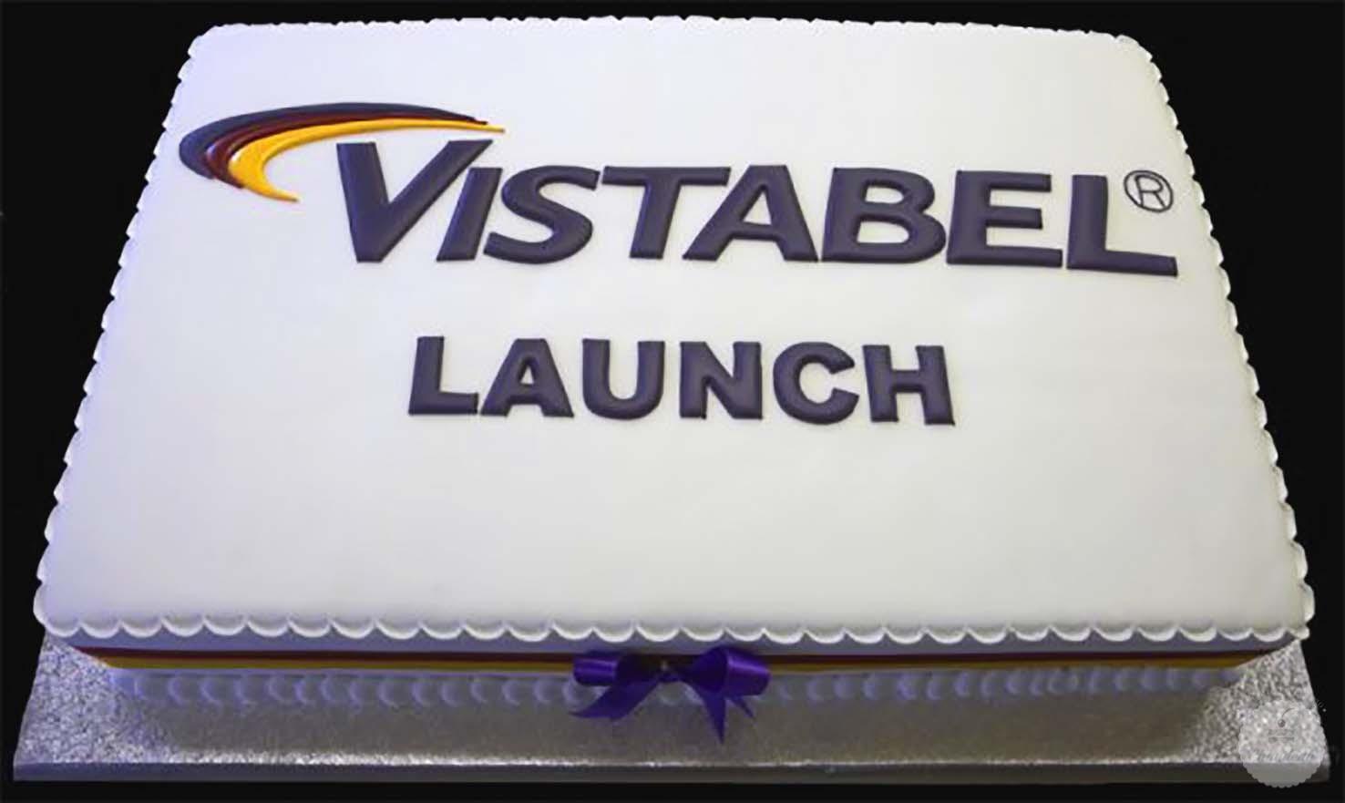 Корпоративный торт-поздравление