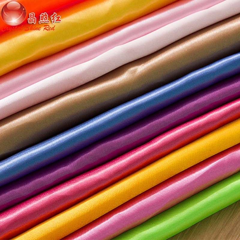 Выбор цвета для пелетения атласной ткани
