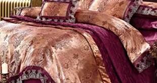 Постельное белье из атласной ткани, атласная ткань в быту