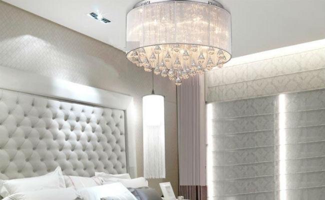 Романтическая спальня: обитель роскоши и любви